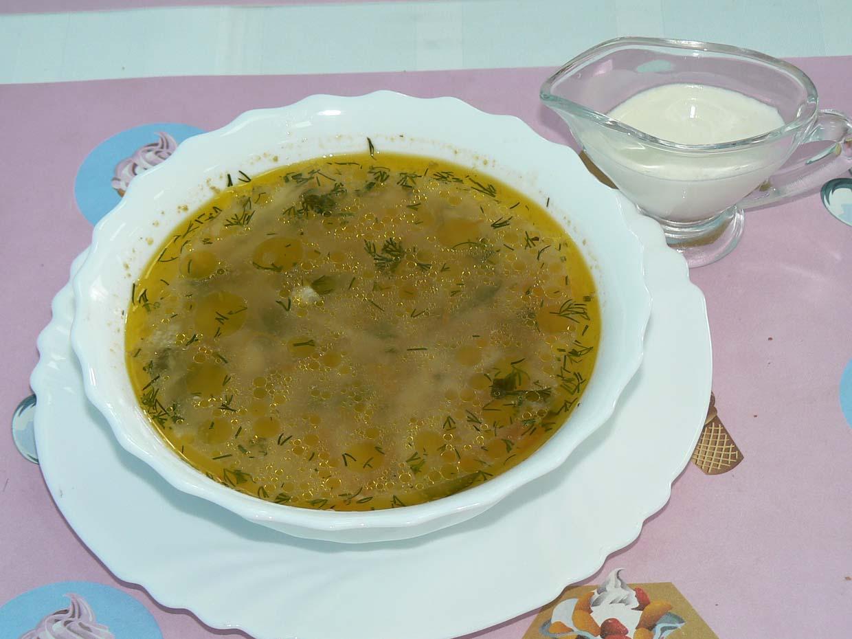 Суп с огурцами рецепт пошагово